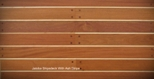 Jatoba Shipsdeck with Ash Stripe